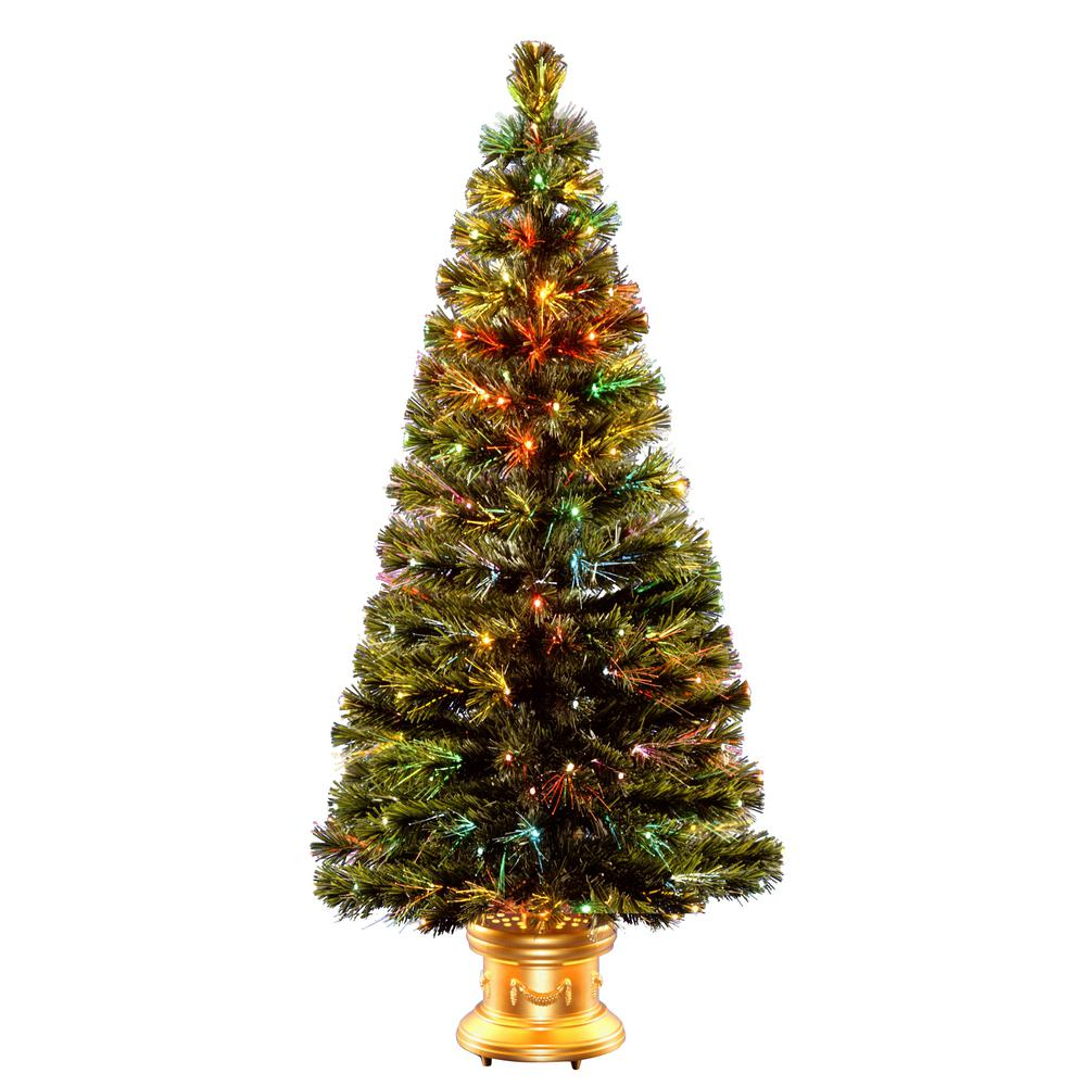 Pre Lit Christmas Trees With Multicolor Lights