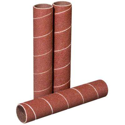 4-1/2 in. x 3/4 in. 120-Grit Sanding Sleeves (3-Pack)