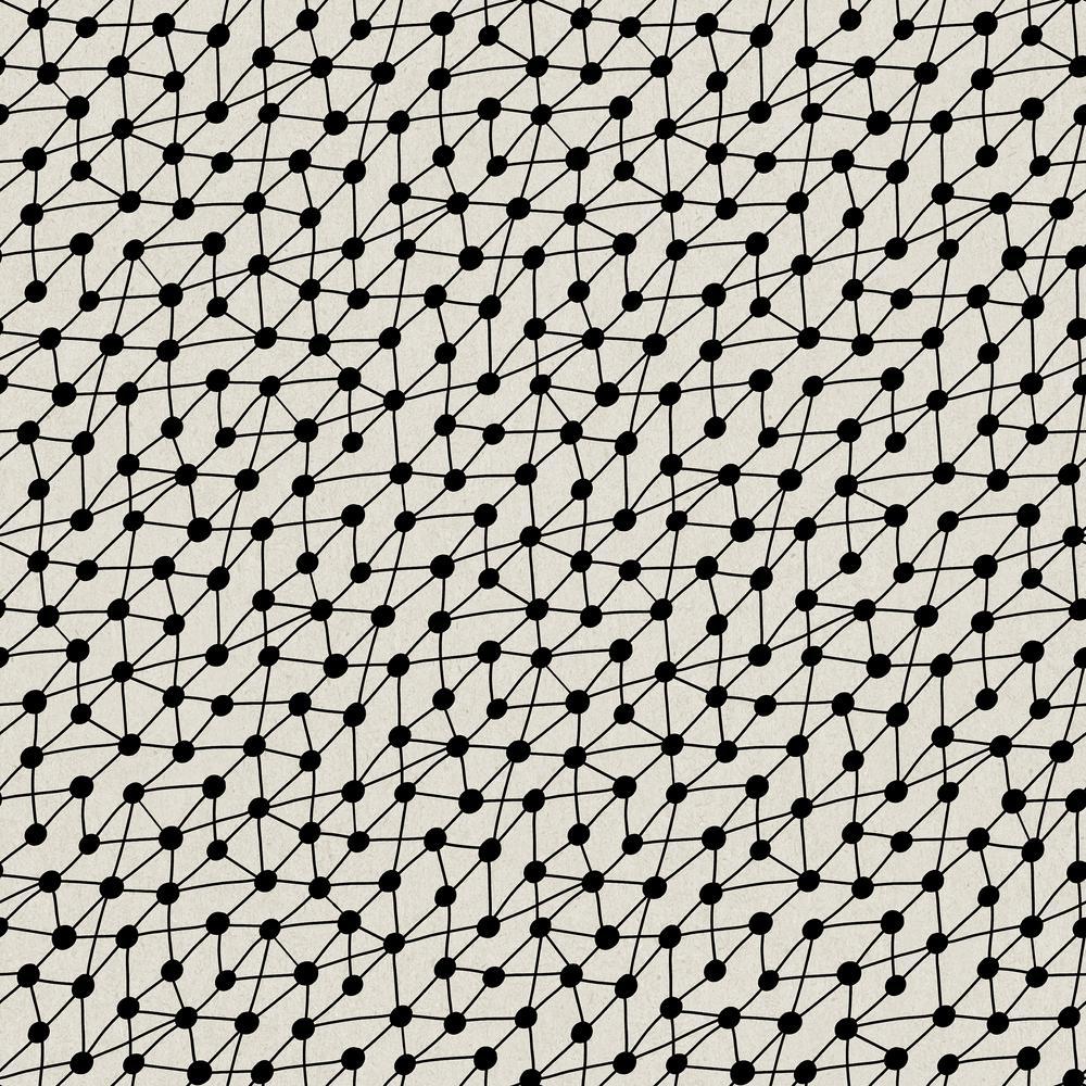 Tempaper Bobby Berk Connect Black On Paper Self Adhesive Removable Wallpaper