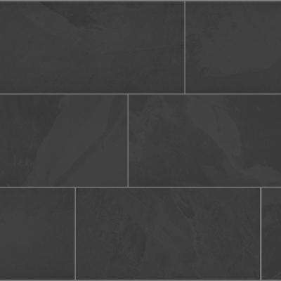 Galactic Slate 12 in. x 24 in. Porcelain Floor and Wall Tile (13.62 sq. ft/ case)