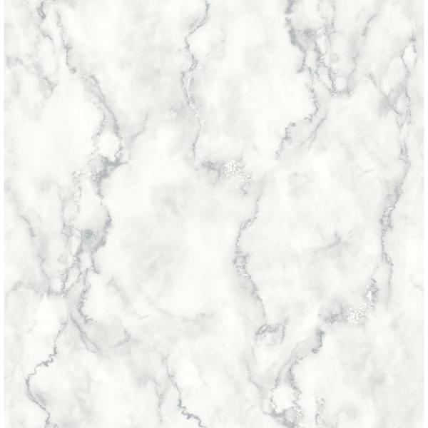 NextWall Marble Texture Peel and Stick Wallpaper NW30400