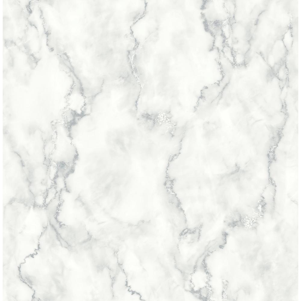 Marble Texture Vinyl Peelable Wallpaper (Covers 30.75 sq. ft.)