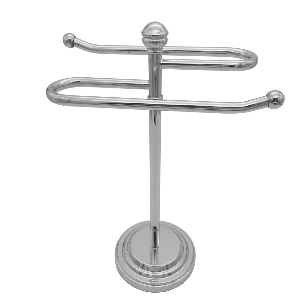 Outstanding Broadway Bath Counter Top Hand Towel Holder In Chrome Download Free Architecture Designs Rallybritishbridgeorg