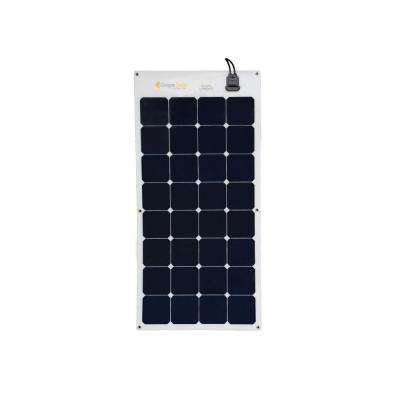 100-Watt Flexible Monocrystalline Solar Panel