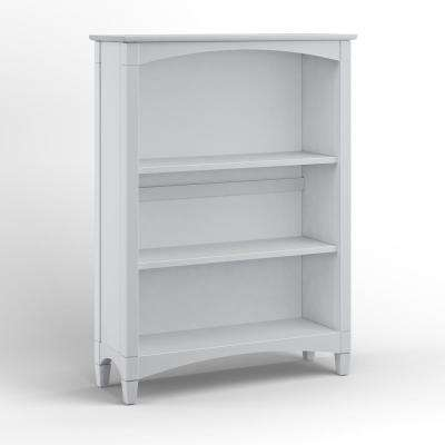 Essex Dove Gray Bookcase