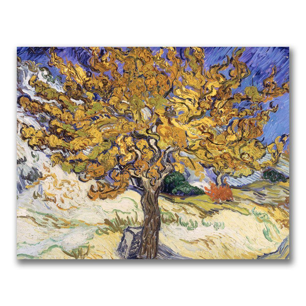 35 in. x 47 in. Mulberry Tree, 1889 Canvas Art