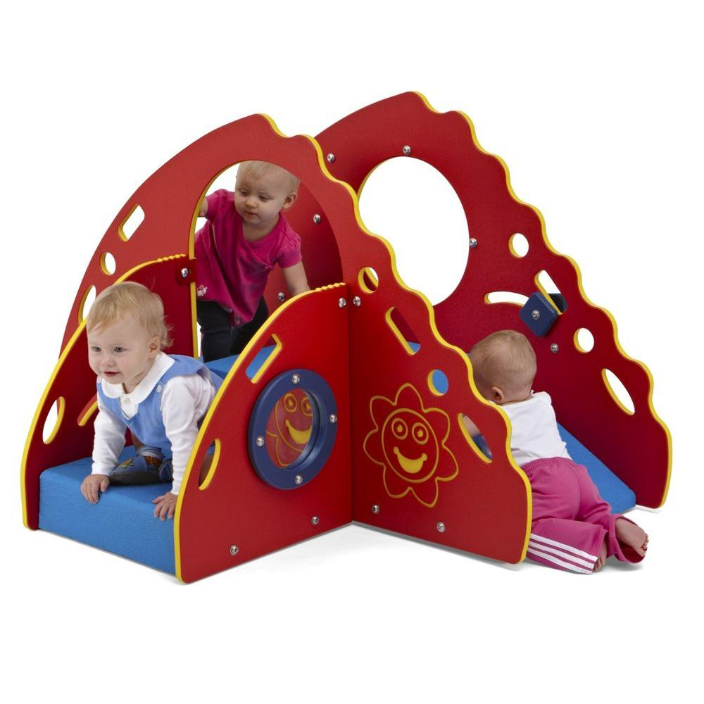 Ultra Play Early Childhood Commercial Crawl and Toddle Playsystem ComfyTuff Platform