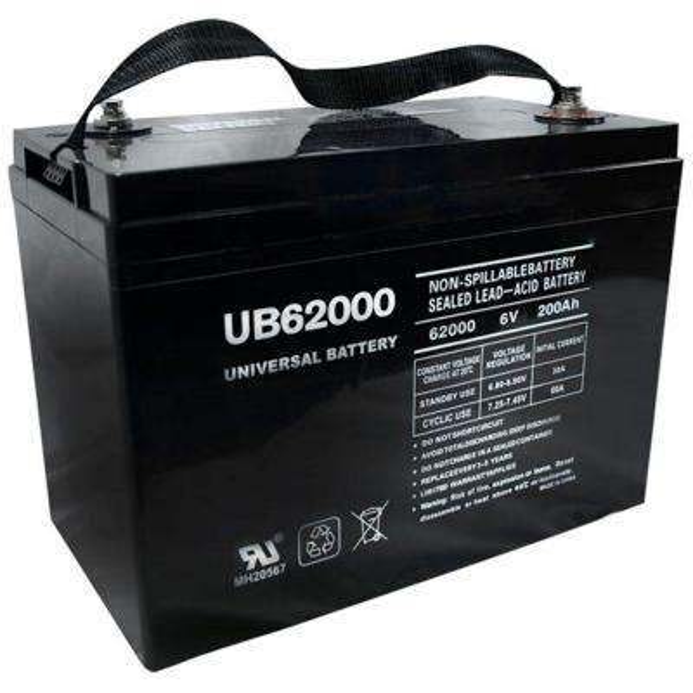 SLA 6-Volt I4 Internal Threaded Terminal Battery