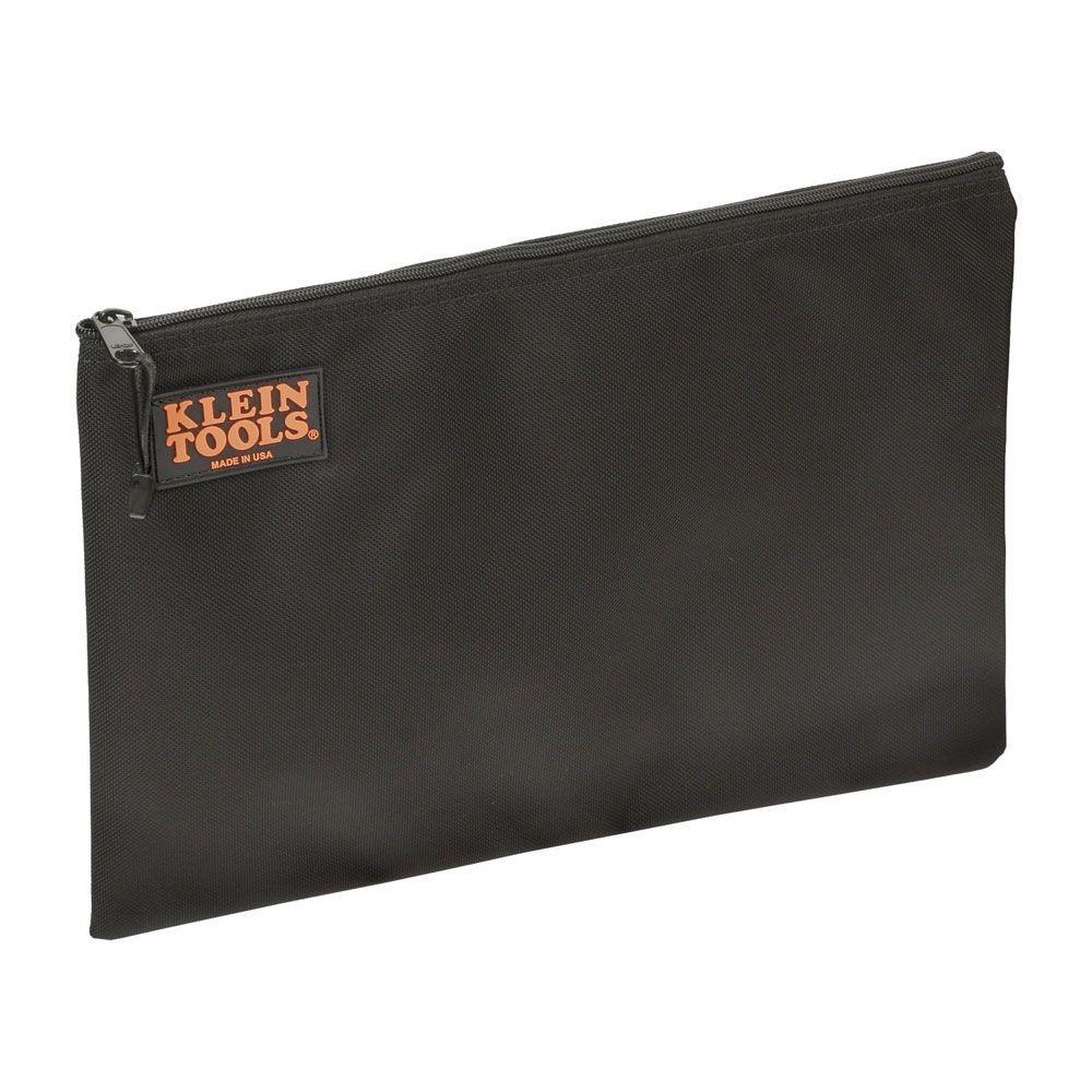 Klein tools contractor 39 s zipper portfolio padded ballistic for Window zipper home depot