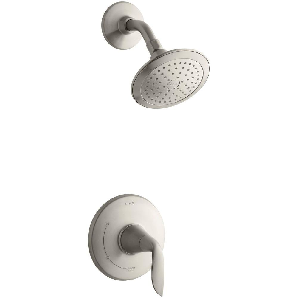 KOHLER Refinia 1 Handle Shower Faucet Trim Kit In Vibrant Brushed Nickel ( Valve Not