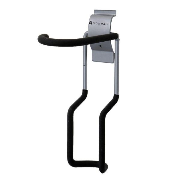 Silver Vertical Bike Hook