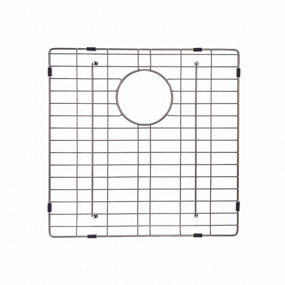 KRAUS 17 in. x 17 in. Bottom Sink Grid in Stainless Steel