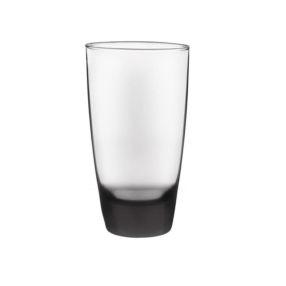 Classic Smoke 18 oz. Cooler Glass Set (12-Pack)