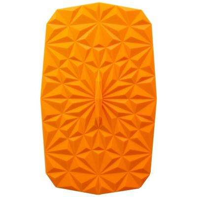 Rectangular Suction 9x6 Silicone Lid in Orange