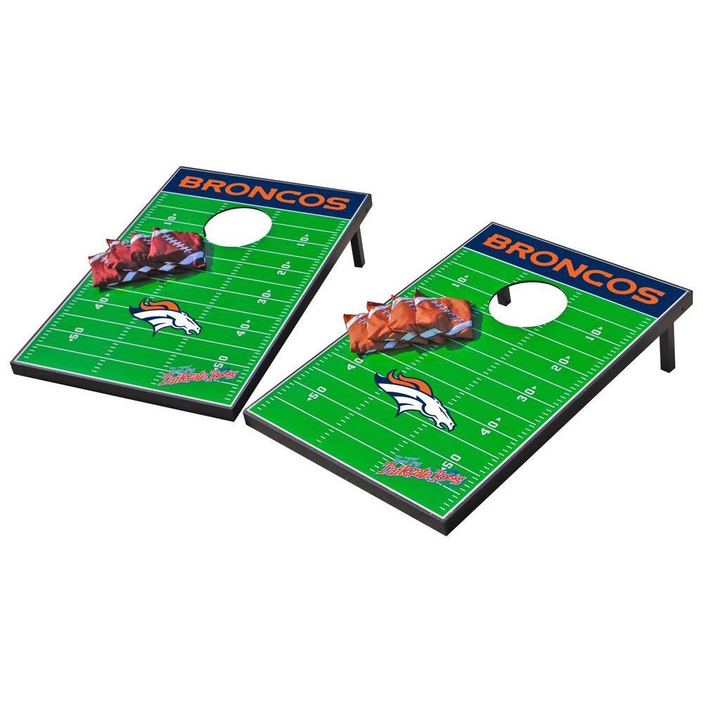 Wild Sports Denver Broncos Tailgate Cornhole Toss