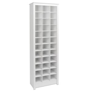 Etonnant Internet #301668782. +5. Prepac White Space Saving Shoe Storage Cabinet