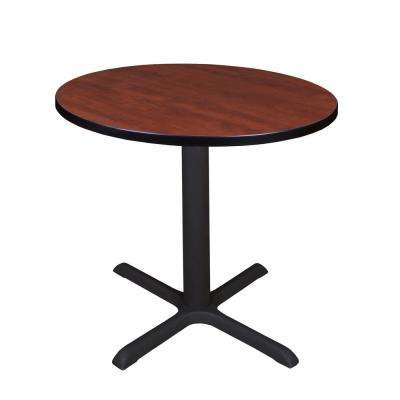 Cain Cherry Round 30 in. Breakroom Table