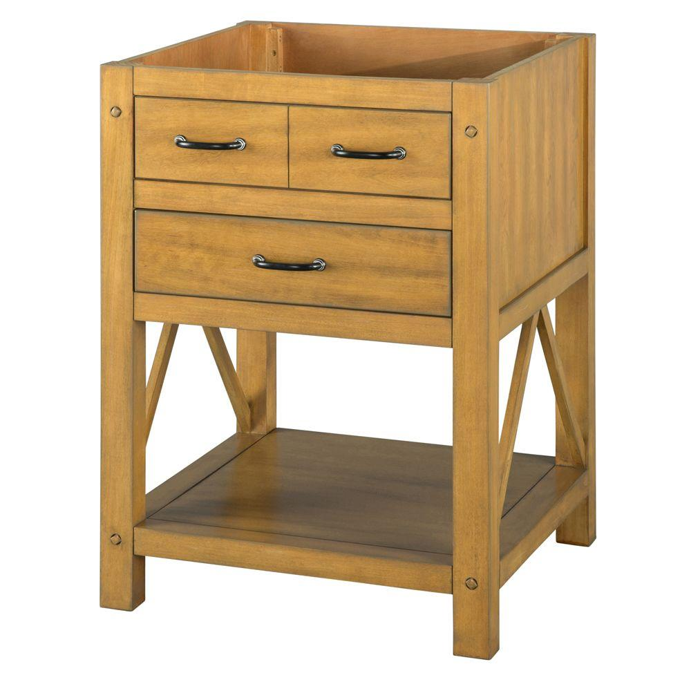 Avondale 25 in. W x 22 in. D Vanity in Weathered