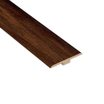 Distressed Maple Ashburn 1/4 in. Thick x 1-7/16 in. Wide x 94 in. Length Laminate T-Molding