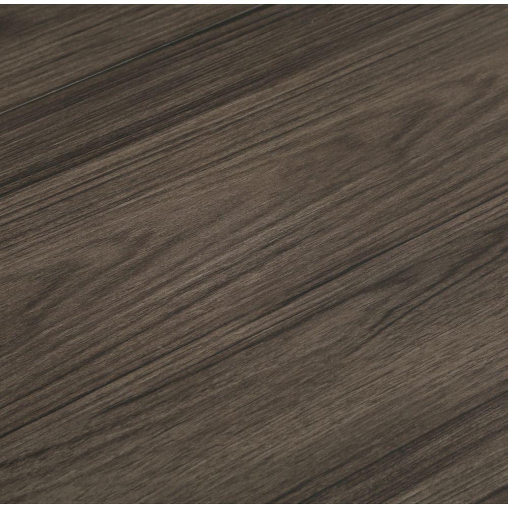 TrafficMASTER Take Home Sample - Iron Wood Luxury Vinyl Plank Flooring - 4 in. x 4 in.