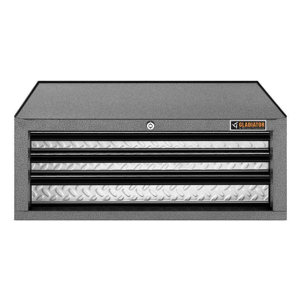 Premier Series 26 in. W 3-Drawer Middle Tool Chest