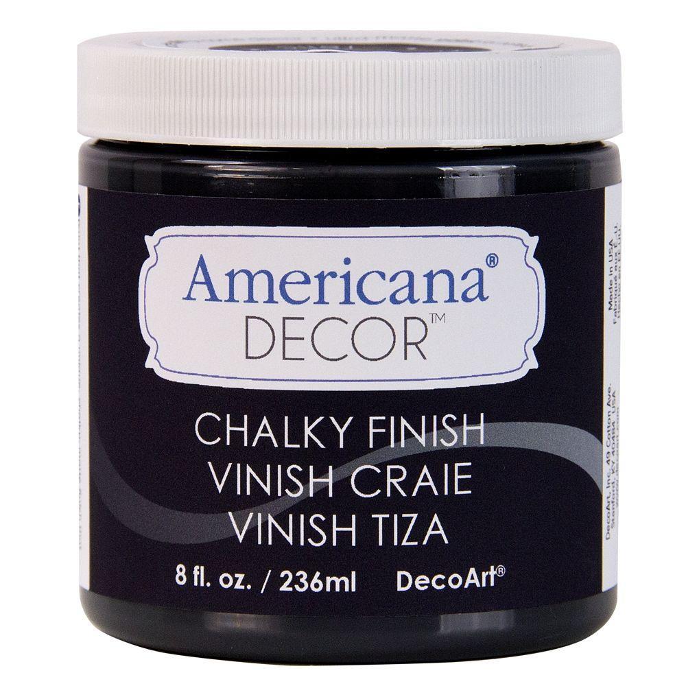 DecoArt Americana Decor 8 Oz. Carbon Chalky Finish