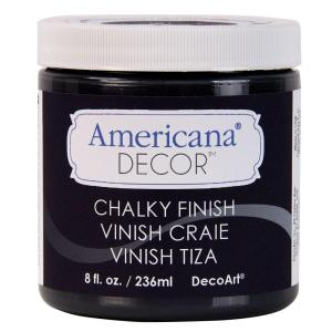 Americana Decor 8 Oz Carbon Chalky Finish