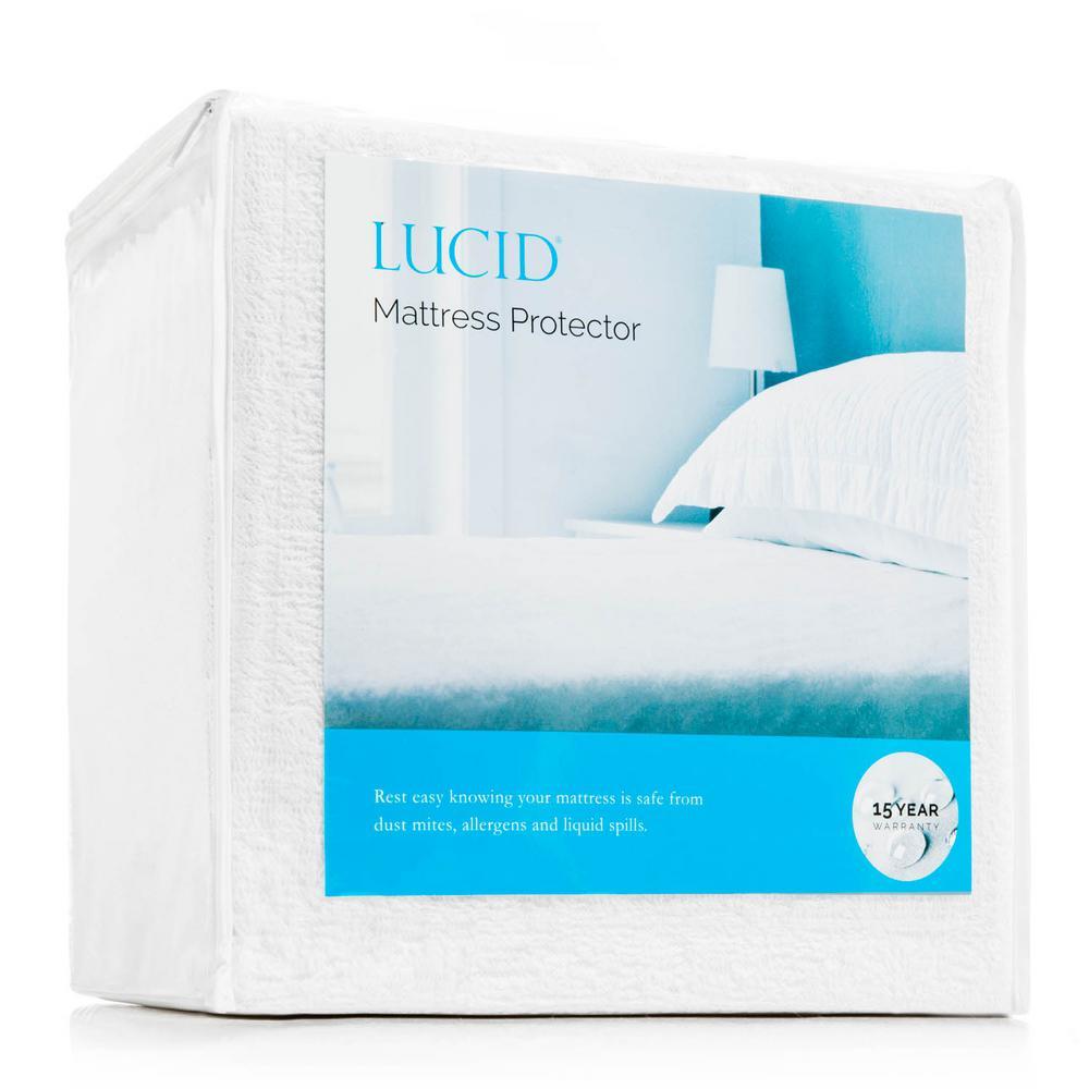 Polyester Queen Premium Waterproof Mattress Protector