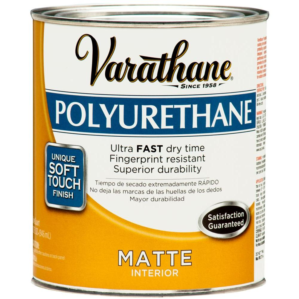 Varathane 1 Qt. Matte Soft Touch Polyurethane (2-Pack)-DISCONTINUED