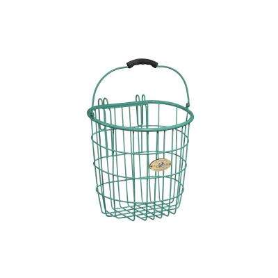 Surfside Rear Wire Pannier Basket in Turquoise