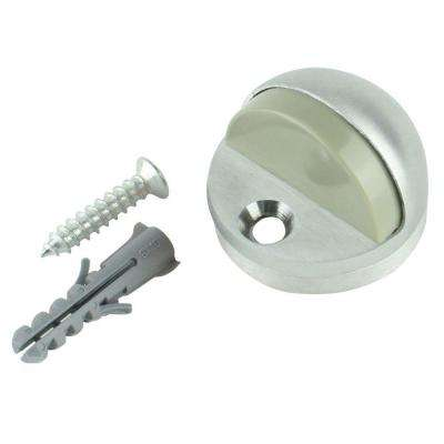 Satin Chrome Adjustable Floor Door Stop