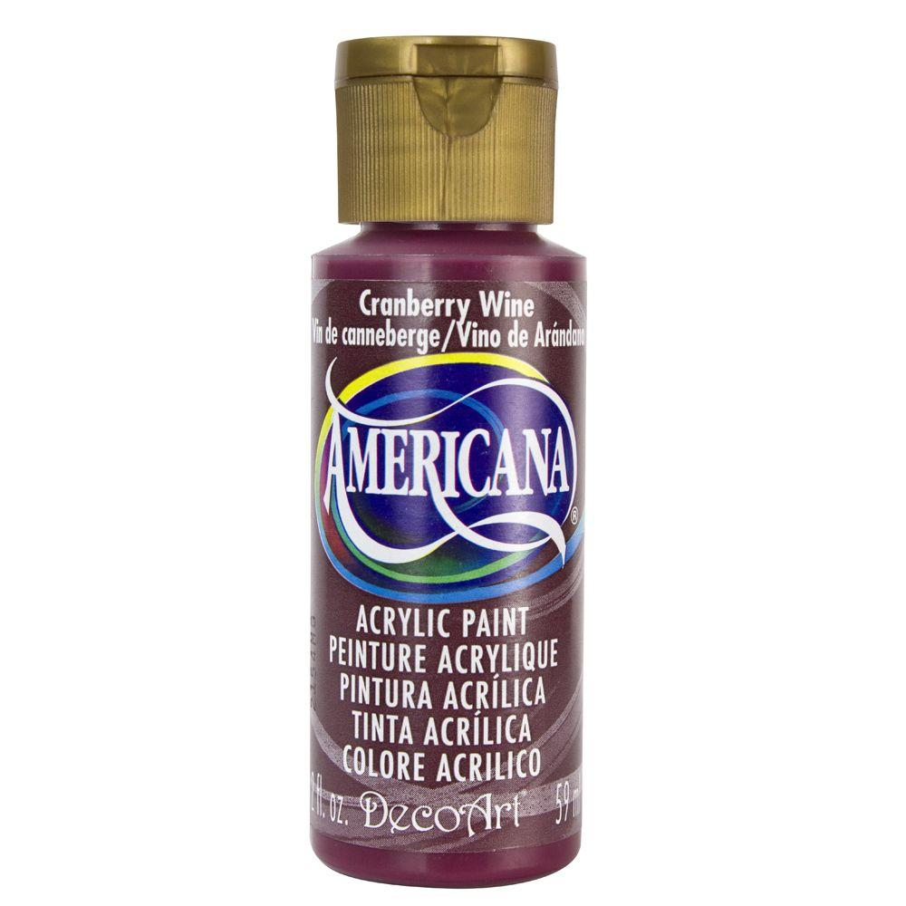 Americana 2 oz. Cranberry Wine Acrylic Paint