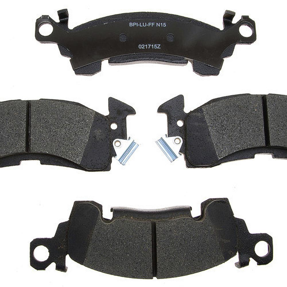 Raybestos Front Reliant Ceramic Disc Brake Pad fits 1969-1989 Pontiac  Firebird Bonneville,Catalina Grand Prix,LeMans