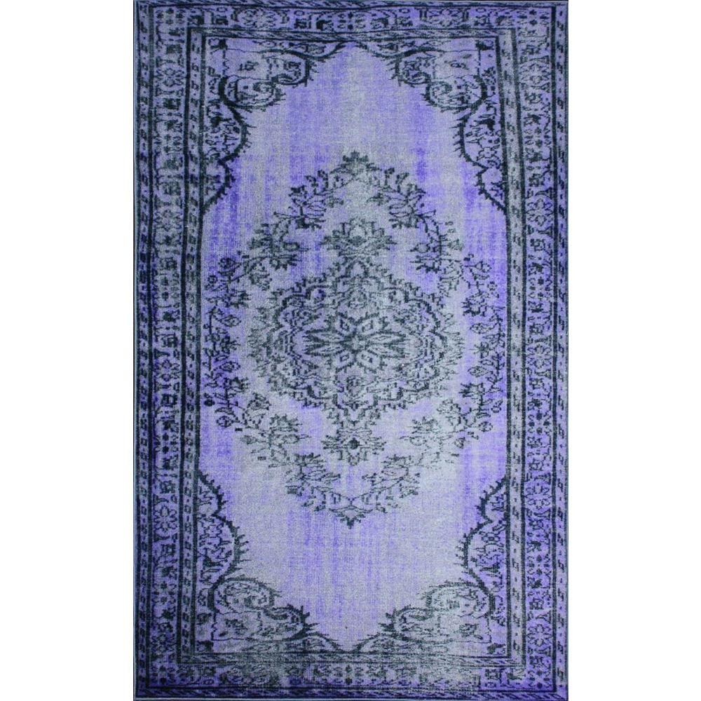 NuLOOM Vintage Inspired Overdyed Purple 9 Ft. 2 In. X 12 Ft. 5