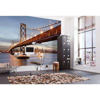 100 in. x 145 in. Bay Bridge Wall Mural