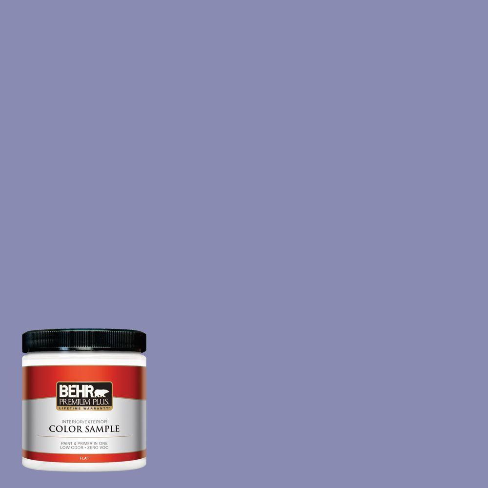 8 oz. #M550-5 Violet Aura Interior/Exterior Paint Sample