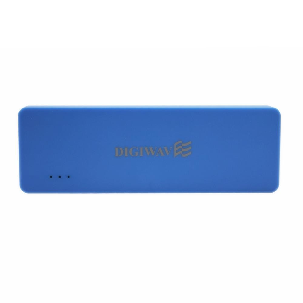 Homevision Technology Digiwave 3000mAh Portable Smart Power Bank, Blue Digiwave DCP1030B Portable Smart Powerbank is portable emergency back up power supply for your devices. This stylish designed powerbank adopts intelligent circuits to enable safe charging with its four layer circuit protection. This smart powerbank is compatible and able to charge all standard smart phones, tablets, iPods, iPads, MP3 players, cameras and portable gaming consoles. Color: Blue.