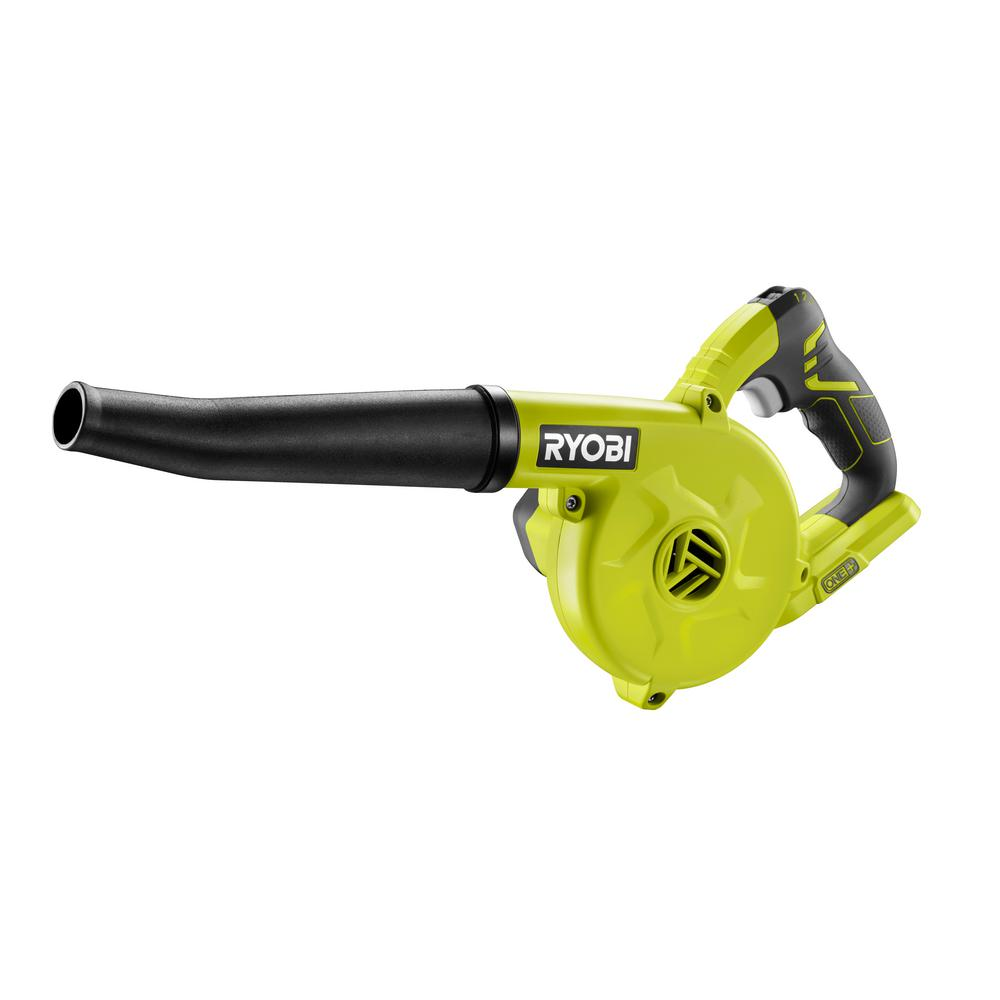 Small Air Blowers : Ryobi volt one compact blower p the home depot