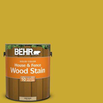 1 gal. #P320-7 Sweet and Sour Solid Color House and Fence Exterior Wood Stain