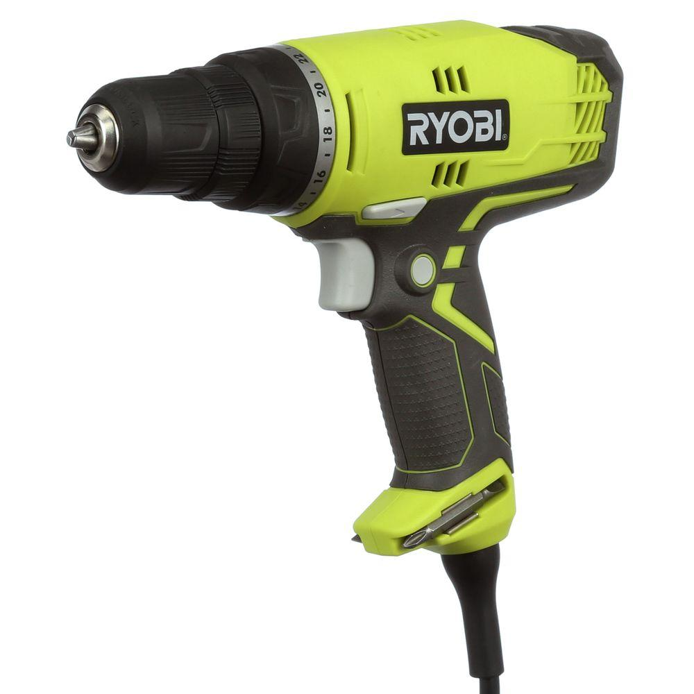 Ryobi 5.5-Amp 3/8 in. Variable Speed Reversible Compact Clutch Driver