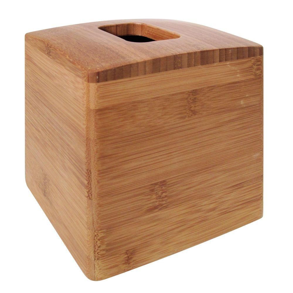 Formbu Tissue Box Cover In Bamboo