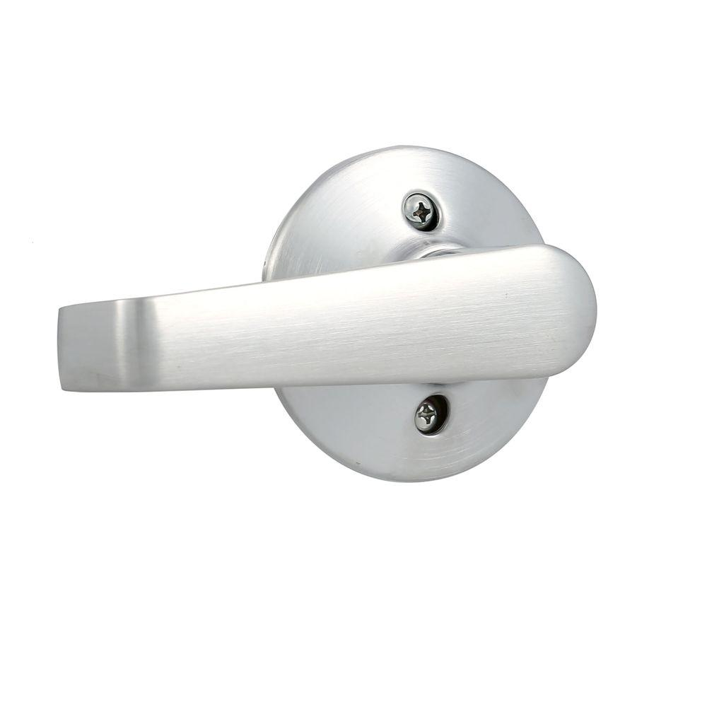 Schlage Elan Series Satin Chrome Dummy Door Lever