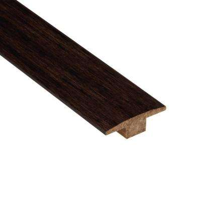 Strand Woven Espresso 7/16 in. Thick x 2 in. Wide x 78 in. Length Bamboo T-Molding