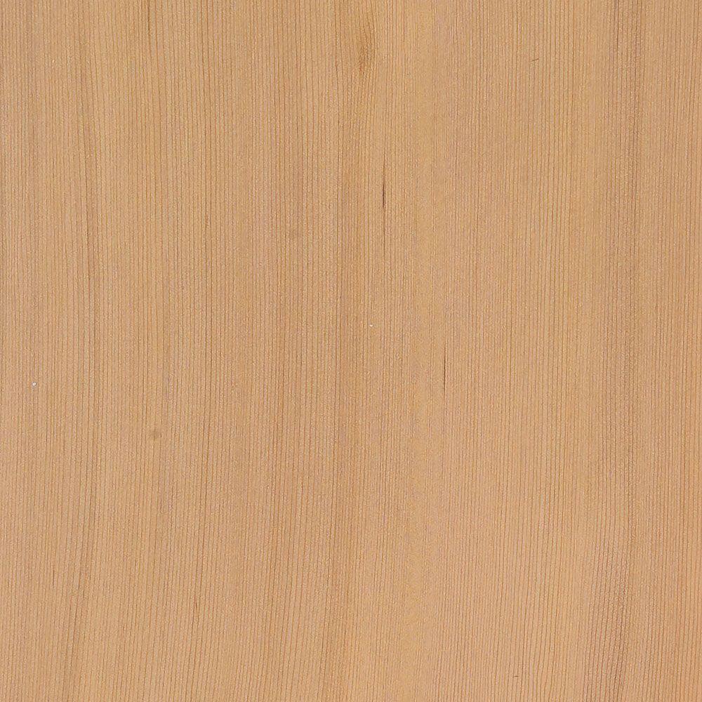4 in. x 3 in. Wood Garage Door Sample in Unfinished Light Cedar
