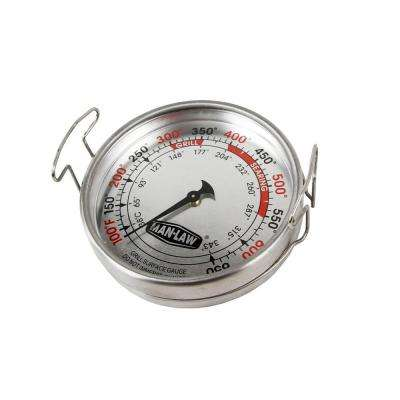 Large 3.2 in. Grill Surface Thermometer