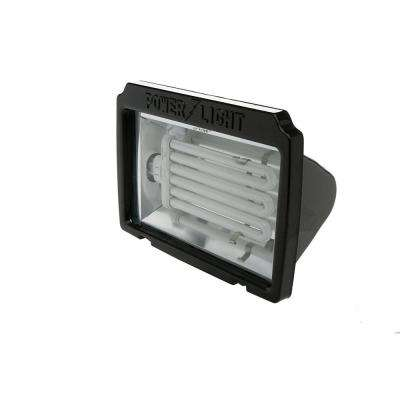 Ecozone 65-Watt Bronze Outdoor Landscape Flood Light with Dusk to Dawn Photocell
