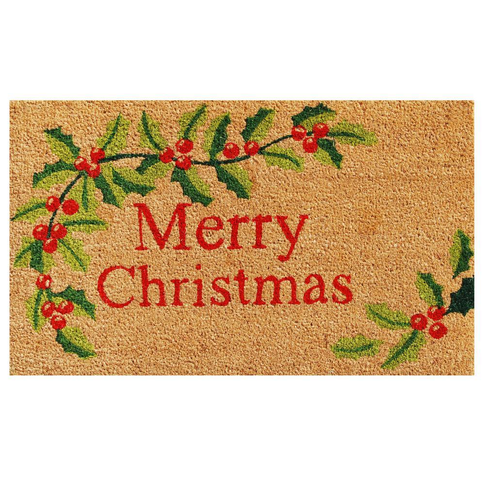 Merry Christmas Doormat 24 in. x 36 in.