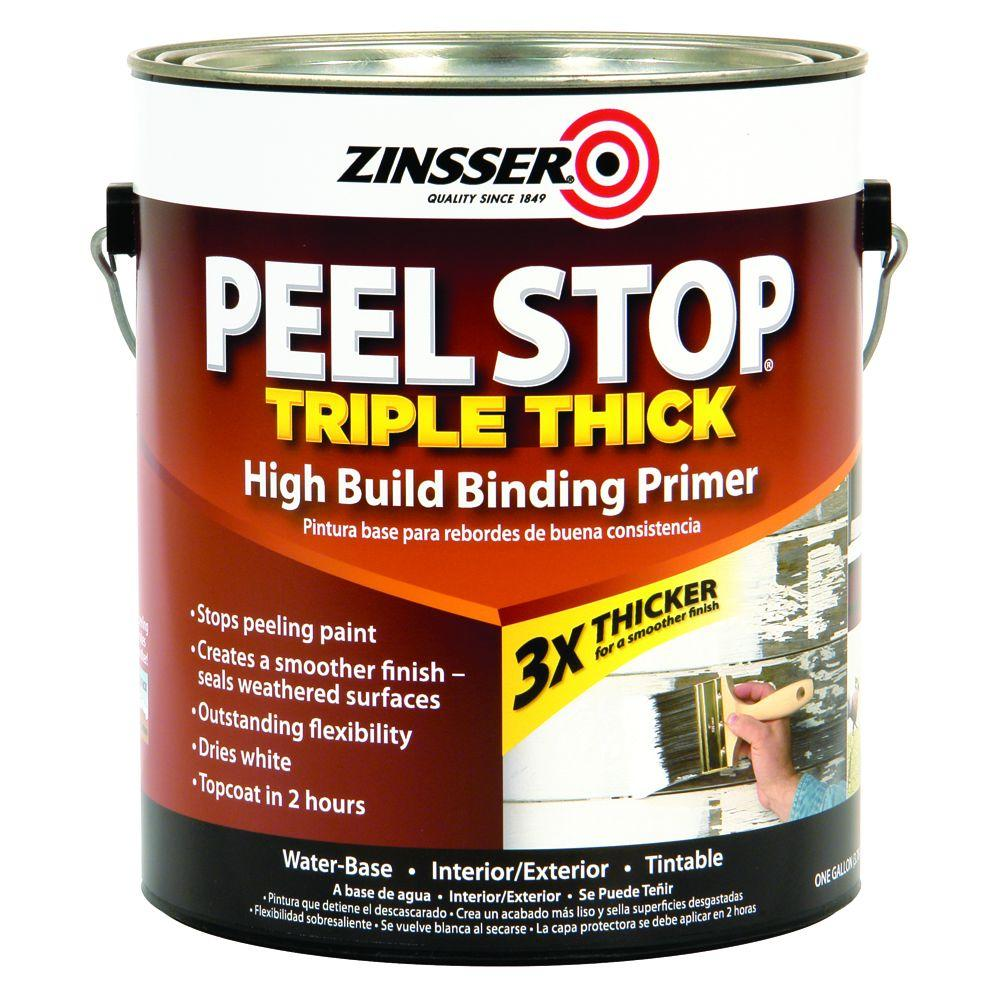 zinsser peel stop 1 gal white triple thick interior exterior high