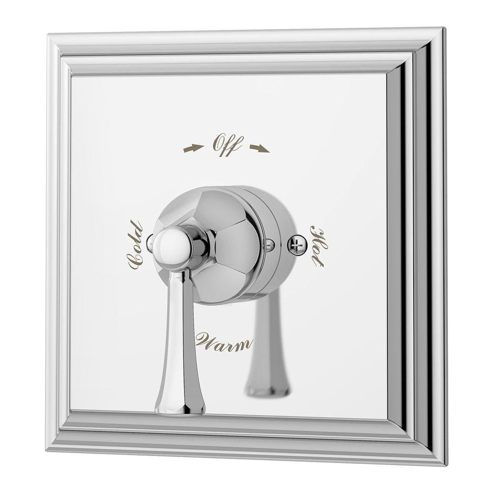 Canterbury 1-Handle Tub and Shower Faucet in Chrome