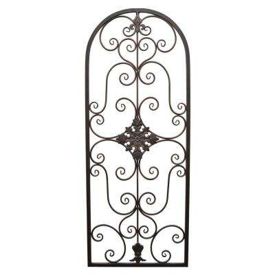 52 in. Metal Wall Decoration